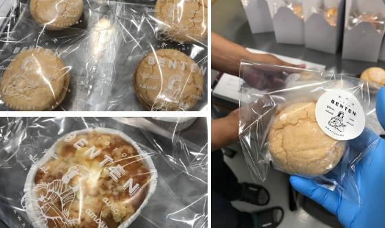 シュークリーム・ロールケーキ包装